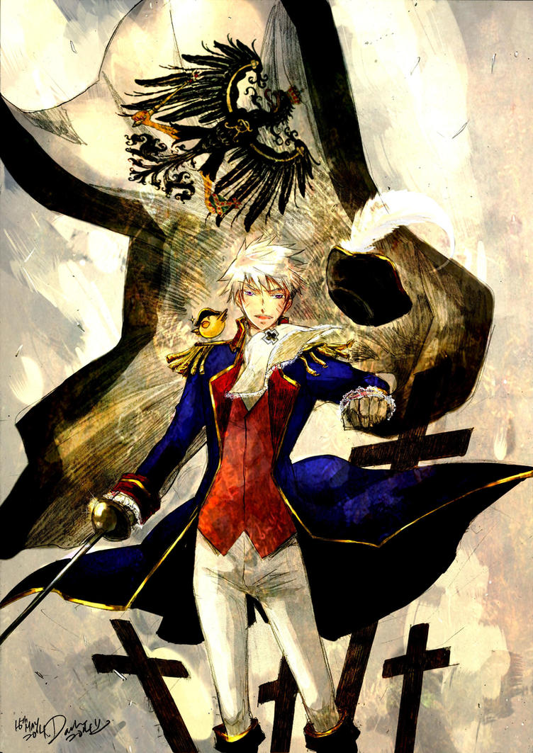 Prussia_Cogito ergo sum by darkn2ght