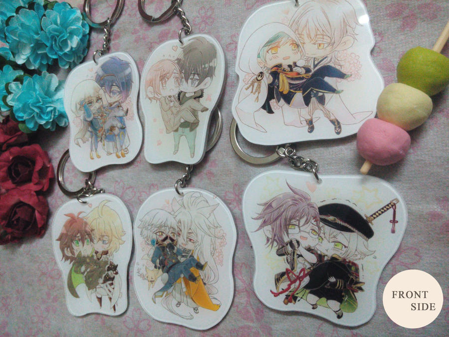 Princess Carry Keychains_Front by darkn2ght