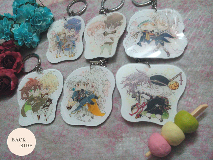 Princess Carry Keychains_Back by darkn2ght