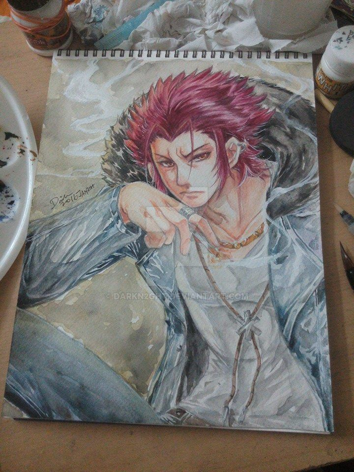 Project K Suoh Mikoto by darkn2ght