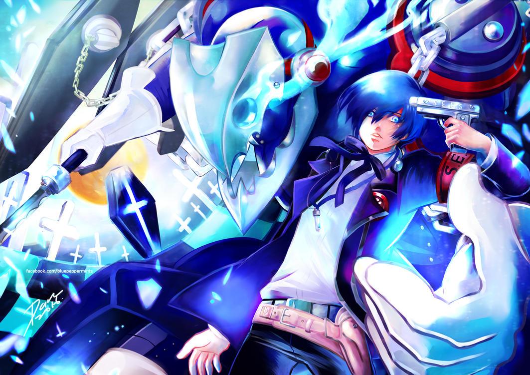 Persona 3 Minato Arisato by darkn2ght