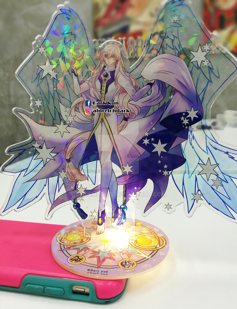 Card Captor Sakura Yue Holographic Standee by darkn2ght