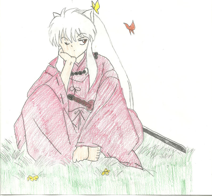 InuYasha by 17tliles