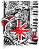 Freddie Mercury by Dreee