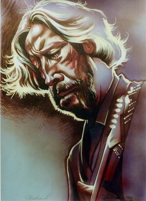 Eric Clapton by JSaurer