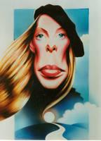 Joni Mitchell by JSaurer