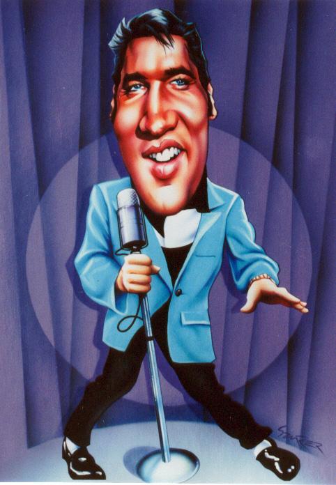 Elvis Presley by JSaurer