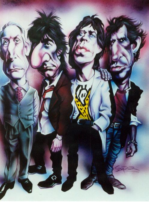 Rolling Stones 1994 by JSaurer