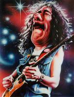 Carlos Santana by JSaurer