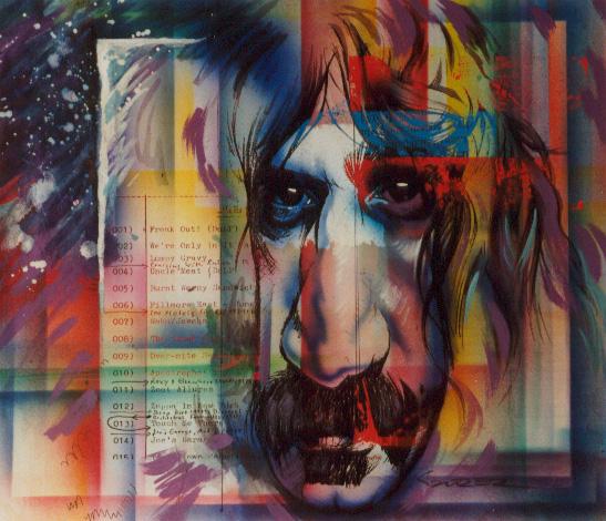 Frank Zappa by JSaurer