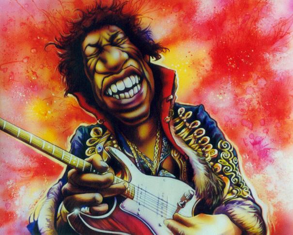 Jimi Hendrix by JSaurer