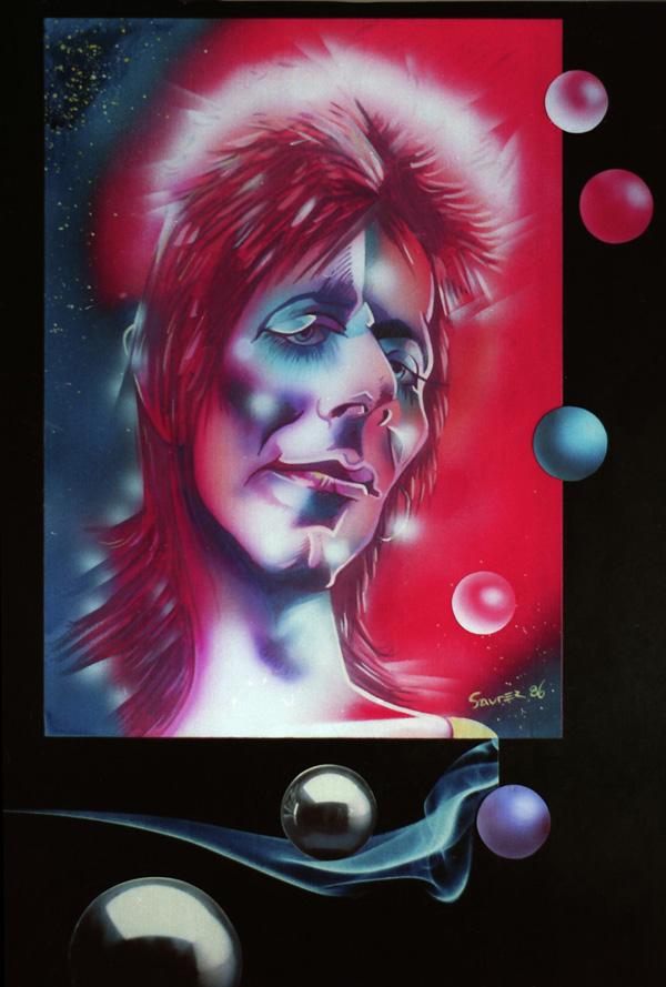 David Bowie by JSaurer