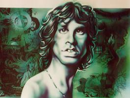 Jim Morrison by JSaurer