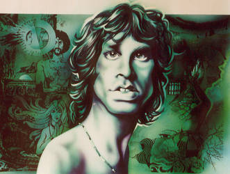 Jim Morrison by JSaurer