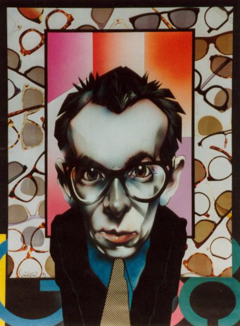 Elvis Costello by JSaurer
