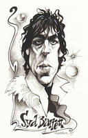 Syd Barrett by JSaurer