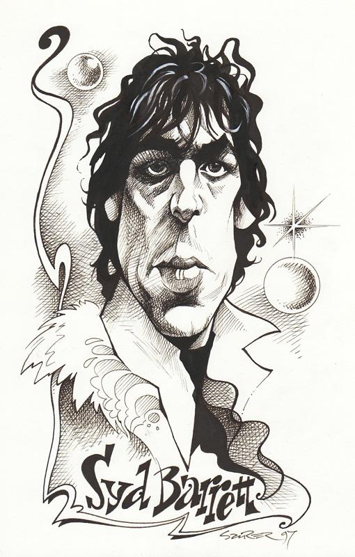 Syd Barrett by JSaurer