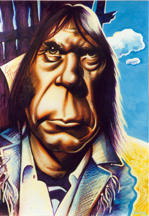 Neil Young 2 by JSaurer