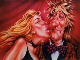 Rod Stewart by JSaurer