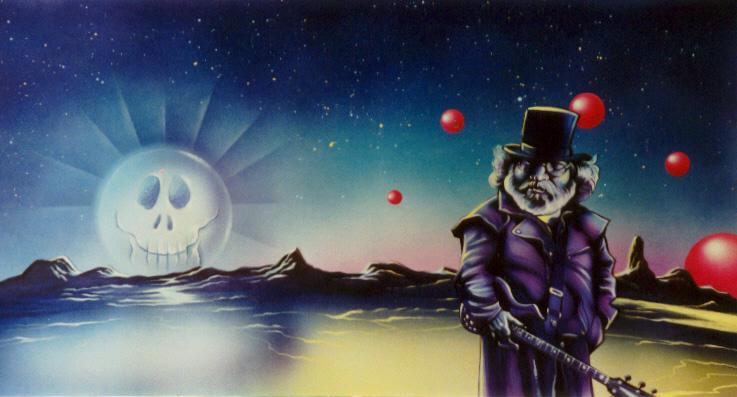 Jerry Garcia By JSaurer