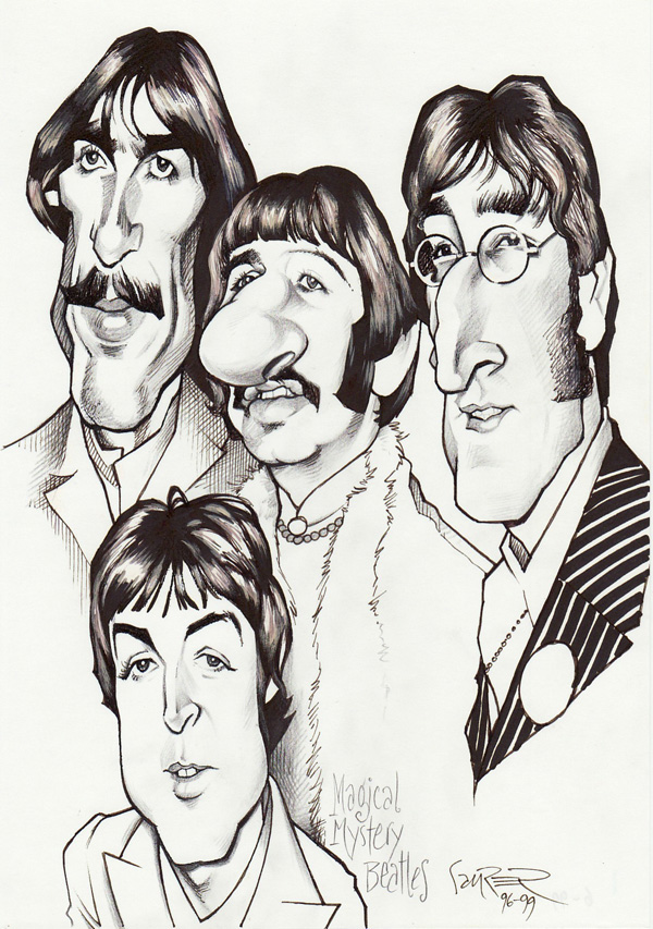 Beatles 'Magical Mystery' by JSaurer