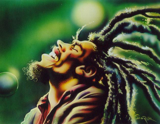 Bob Marley by JSaurer