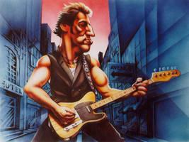 Bruce Springsteen by JSaurer