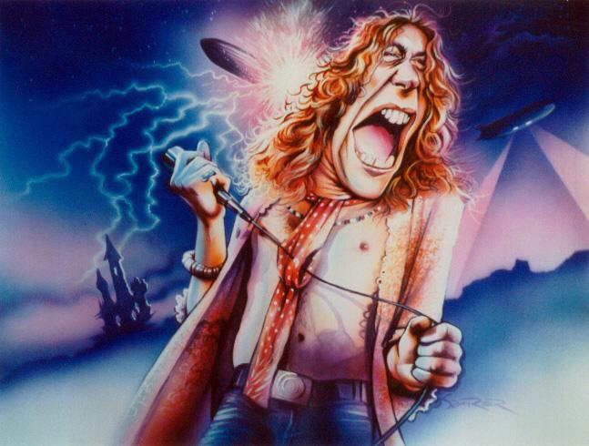 Robert Plant by JSaurer