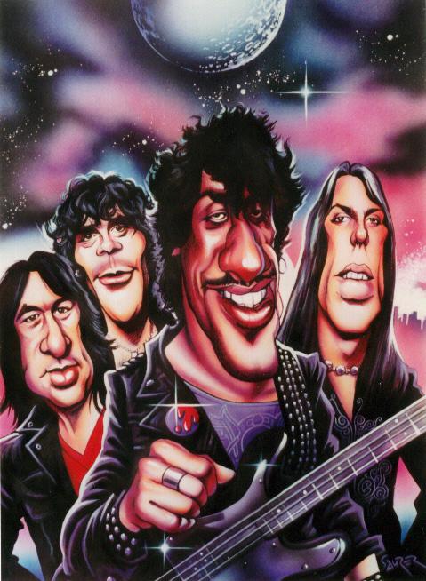 Thin Lizzy by JSaurer