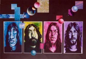 Pink Floyd Meddle by JSaurer