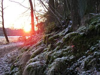 sundown in the winter 4 by JSaurer