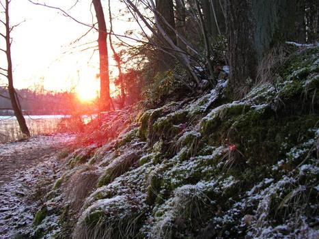sundown in the winter 4