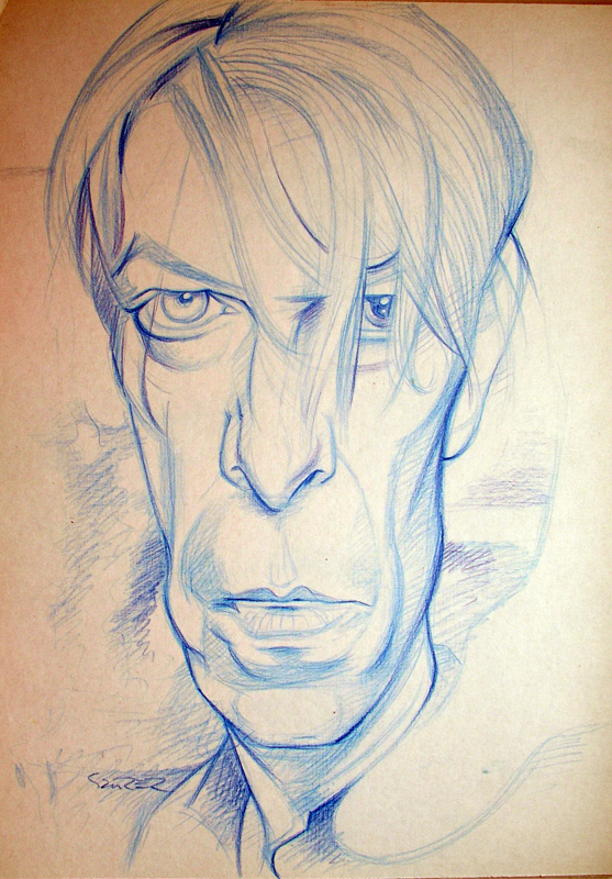 Bowie scetch by JSaurer