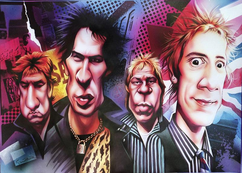 Sex Pistols by JSaurer