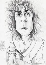Marc Bolan scetch by JSaurer