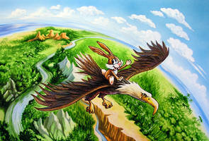 hare and eagle 1