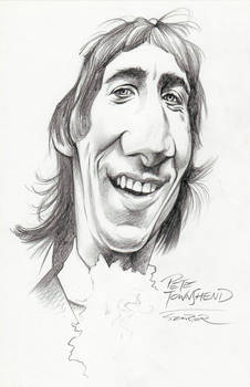 Pete Townshend in the 60s