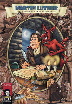Martin Luther comic book