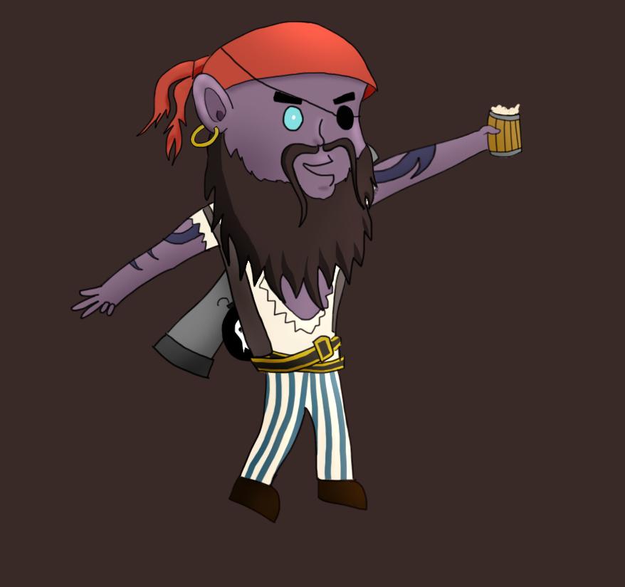Pirate Ryze In Game
