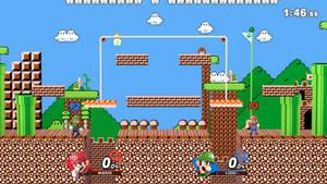 Mushroom Kingdom (Melee) Gameplay Mockup