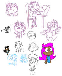 Guppy Sketches (2018-2019)