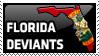 Florida Devaints Stamp by wyldflower