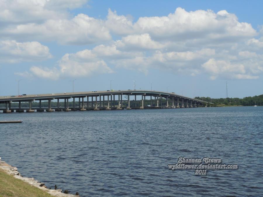 Memorial Bridge - Palatka FL by wyldflower on DeviantArt