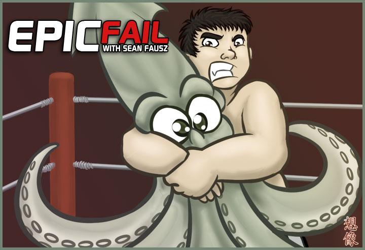HWC - Squid Wrestling by souzou-inc