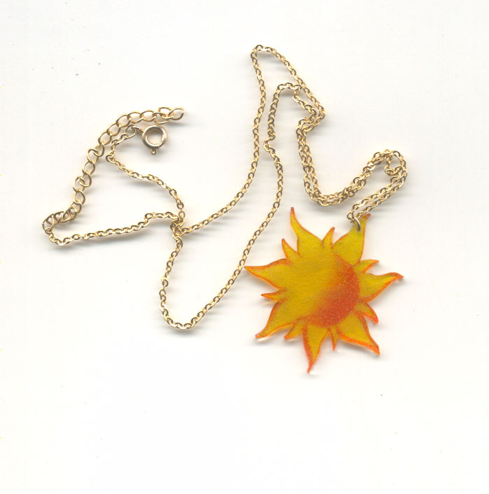 Tangled Sun Necklace By Themermaidwillow On Deviantart