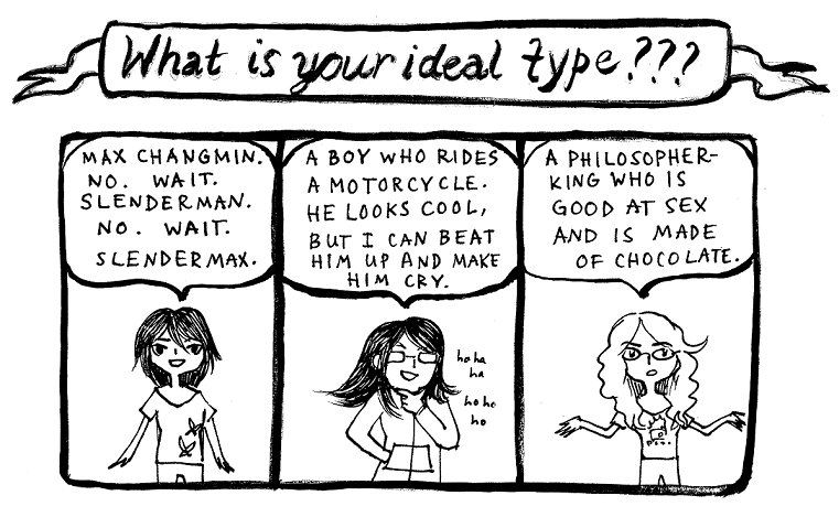 Ideal Type by boychik on DeviantArt