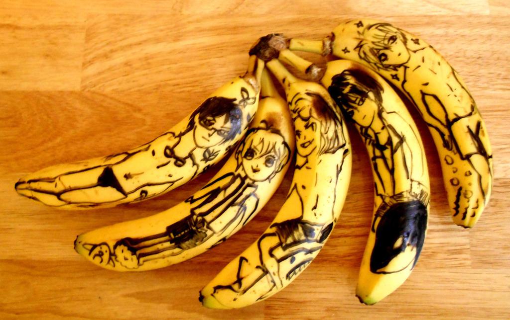 Iwatobi Swim Bananas by boychik