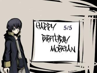 Morgan/Marc's Birthday 2013 -Semi TWEWY crossover- by Ayunacchi