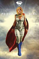 Power Girl  by M4W006
