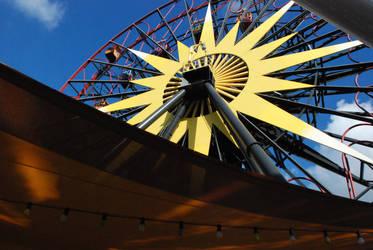 The Big Wheel by iamsaussy